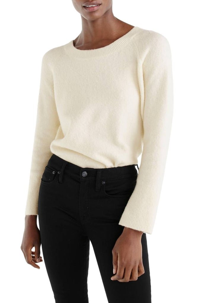 J.Crew Women's Voletta V-Back Sweater