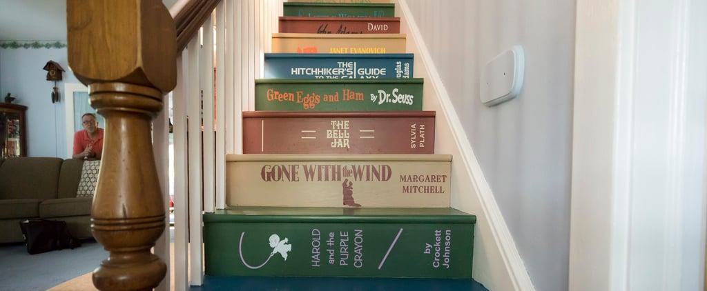 This DIY Book Staircase Is the Coolest Thing You'll See All Day
