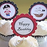 Pirate Cupcake Toppers ($5)