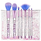 Coshine Makeup Brush Set With Crystal Pouch