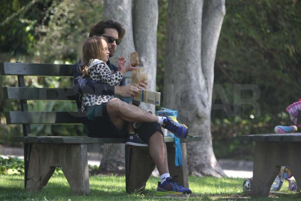 Tobey Maguire took Ruby Maguire to the park.