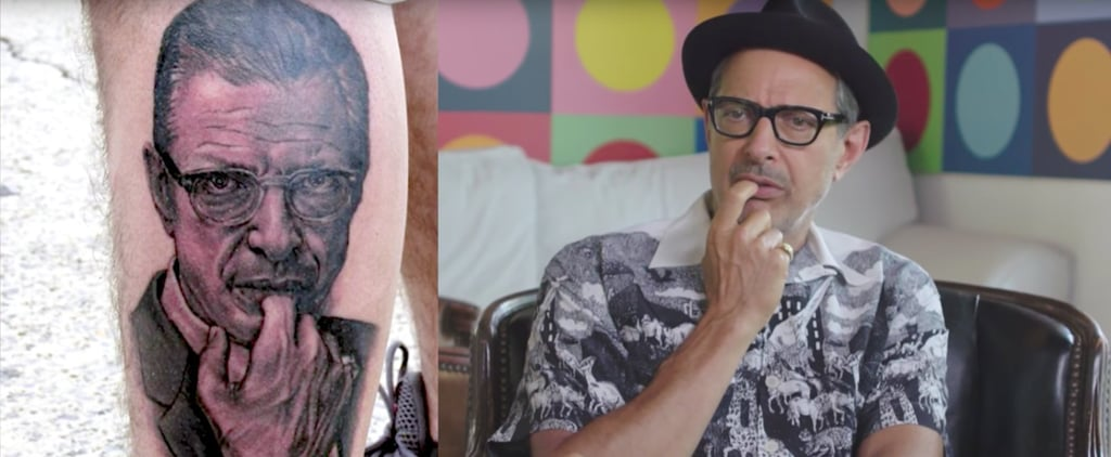 Jeff Goldblum Rating Tattoos of His Own Face Is Just the Laugh You Needed Today