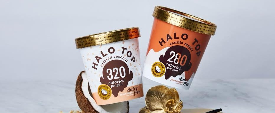 New Halo Top Dairy-Free Flavors January 2018