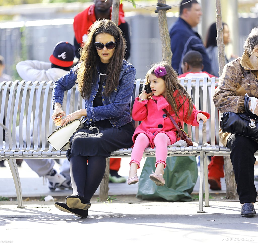 Katie Holmes and Suri Cruise spent some time in NYC.