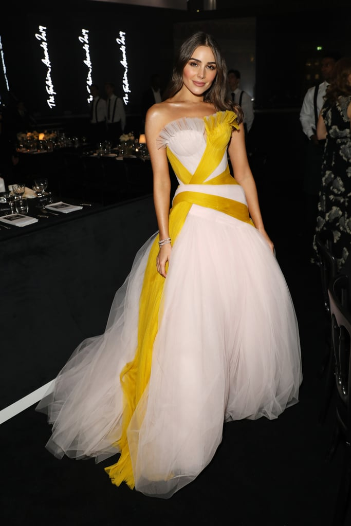 Olivia Culpo at the British Fashion Awards 2019 in London