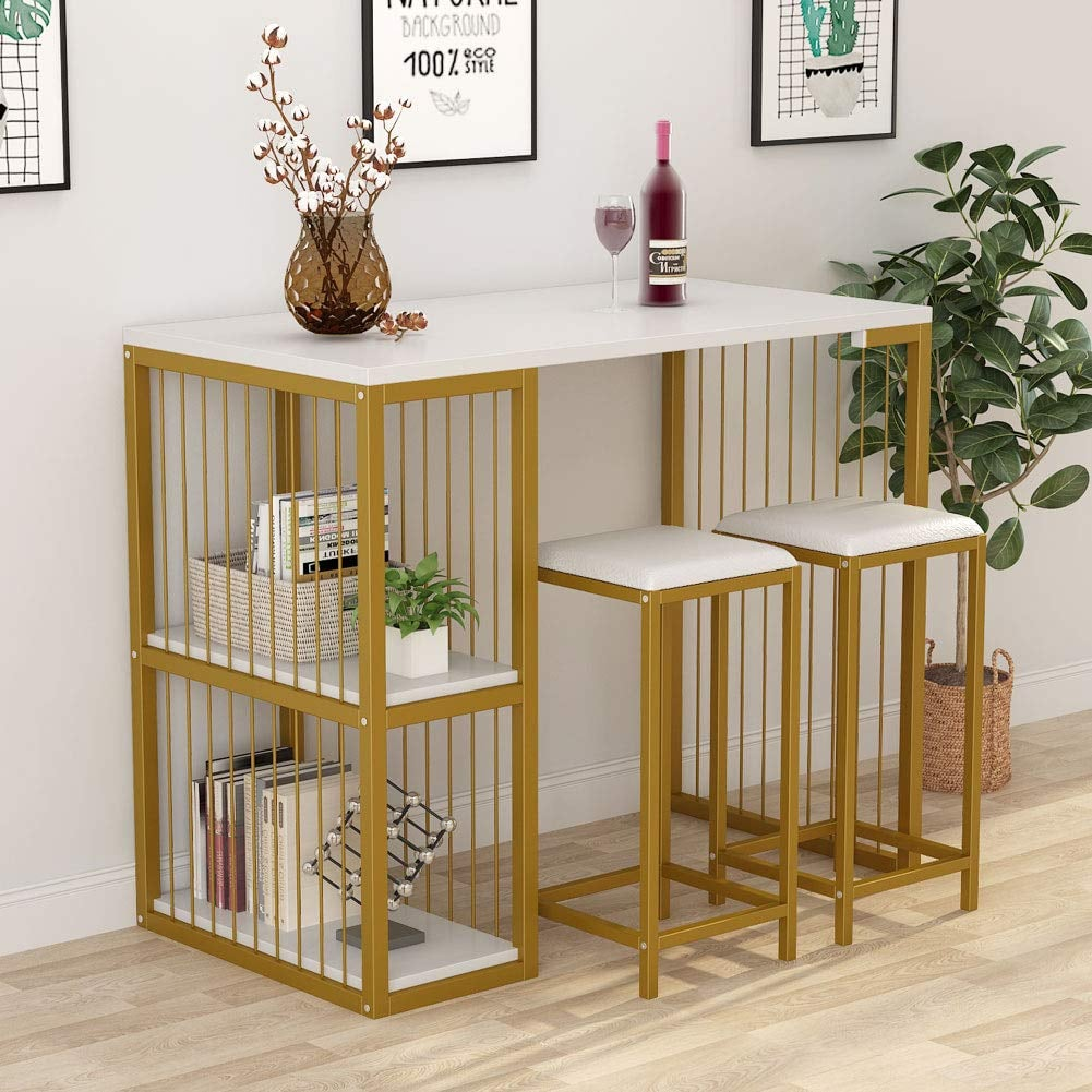 Tribesigns 3-Piece Pub Dining Set