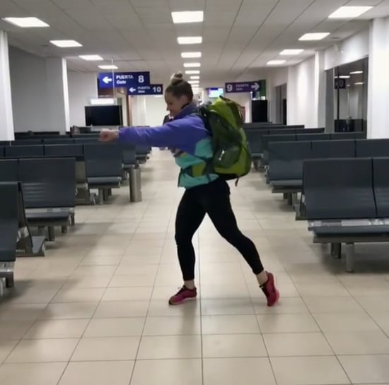 Personal Trainer's Airport Workout