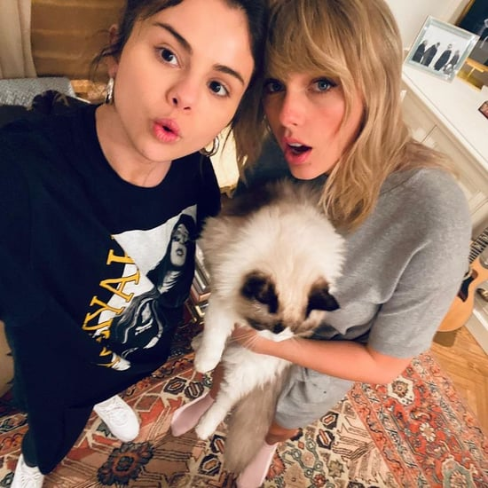 Selena Gomez Wearing an Aaliyah T-Shirt With Taylor Swift
