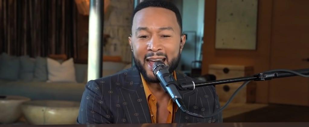 John Legend Attempts Jimmy Fallon's Ballad Challenge | Video