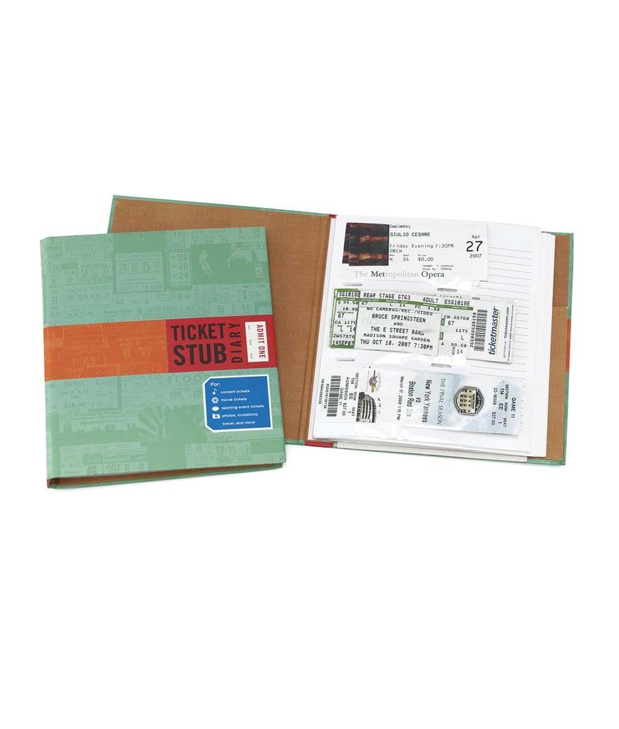 Ticket Stub Diary ($12)