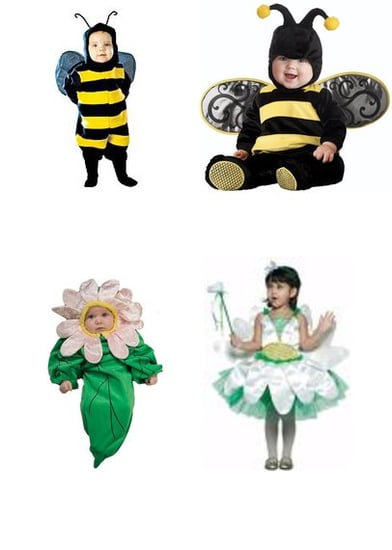 Timeless Sibling Themes for Halloween: Daisy and Bumble Bee