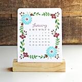 2015 Floral Desk Calendar ($15)