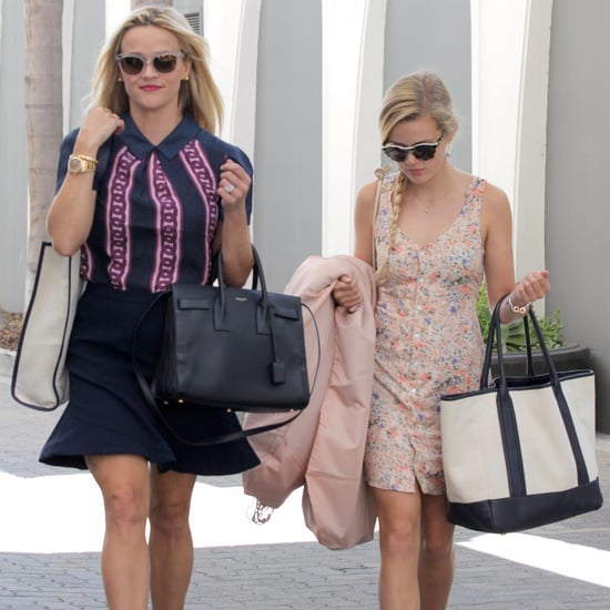 Reese Witherspoon and Ava Phillippe Leaving Office in LA