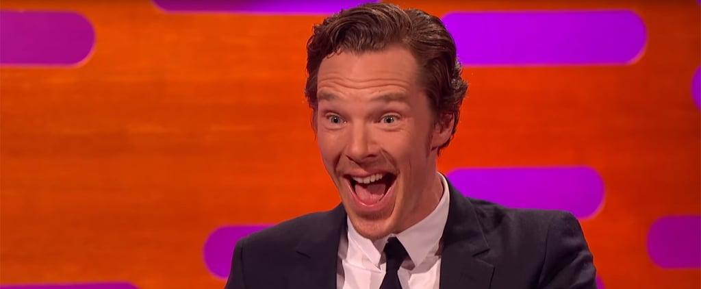 Benedict Cumberbatch on The Graham Norton Show November 2015