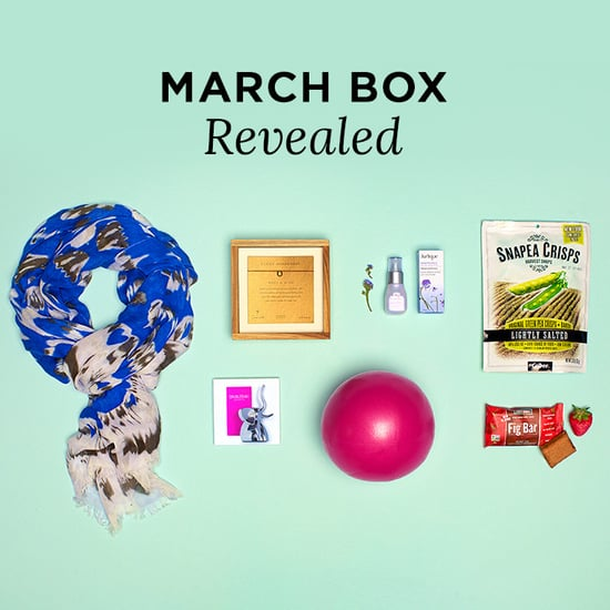 POPSUGAR Must Have Box Reveal Contents March 2014