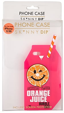 the latest 83435 9c1e7 Skinnydip Orange Juice Carton Case for iPhone SE/5s/5 | Cool Graphic ...