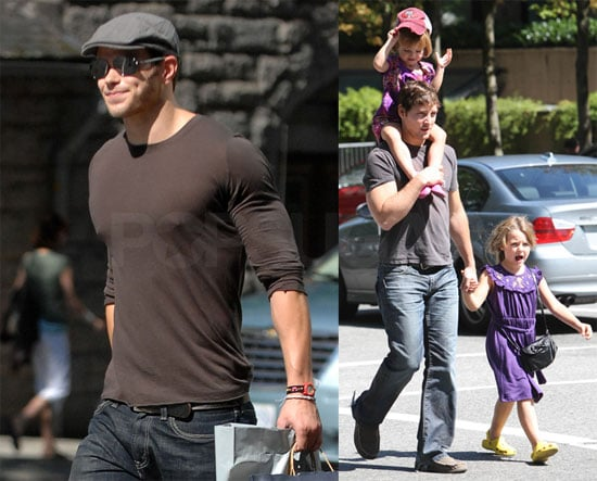Photos of Kellan, Peter, and Jackson in Vancouver