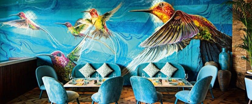 Dubai Restaurant Interiors