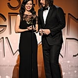 Joy Williams and John Paul White accepted their Grammy earlier this year.