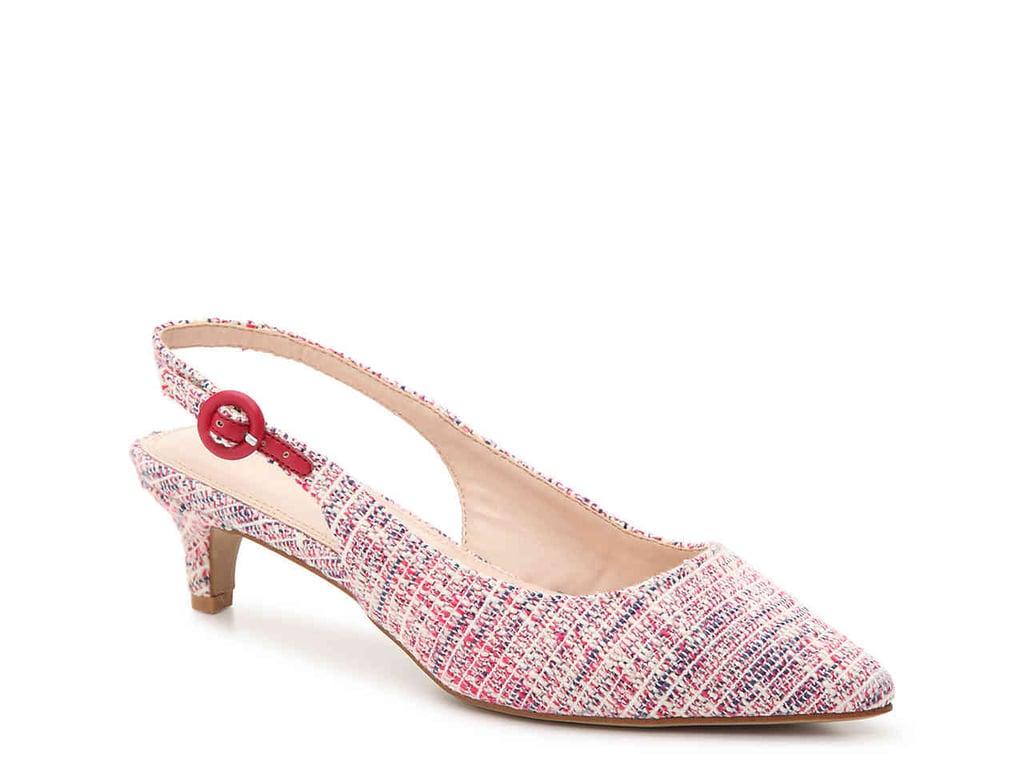 638b0d459 Kelly & Katie Women's Hilaree Pump | Trendy Kitten Heels | POPSUGAR ...