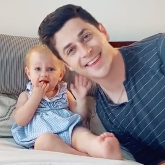 See David Henrie Fail TikTok's Cuddle Your Toddler Challenge