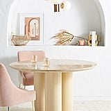 Anthropologie Anya Travertine Dining Table