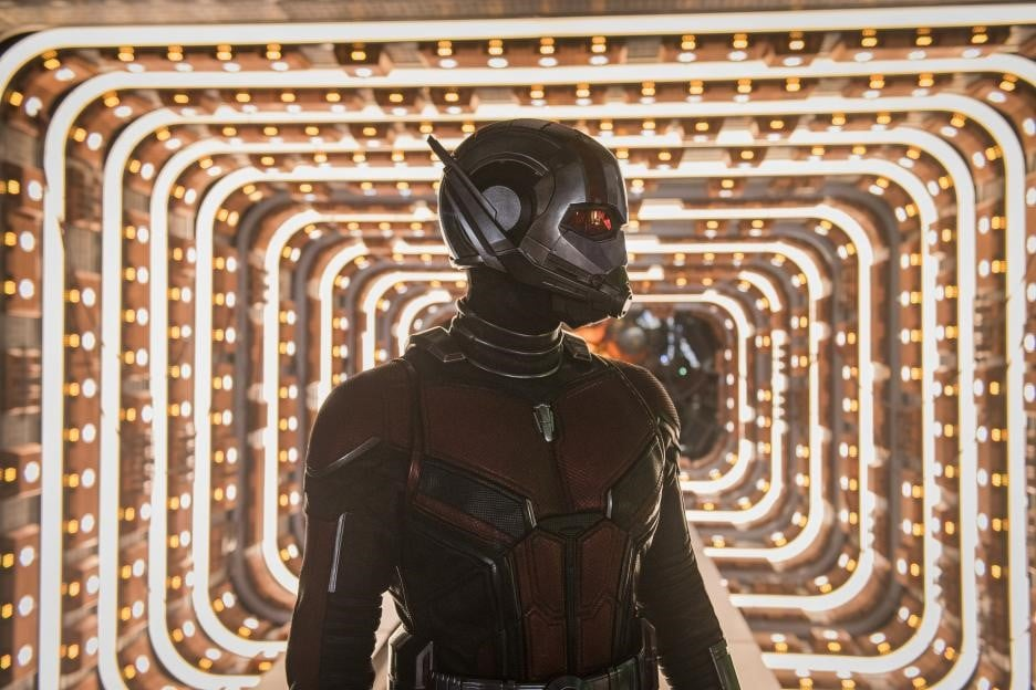How did Ant-Man get out of the quantum realm?