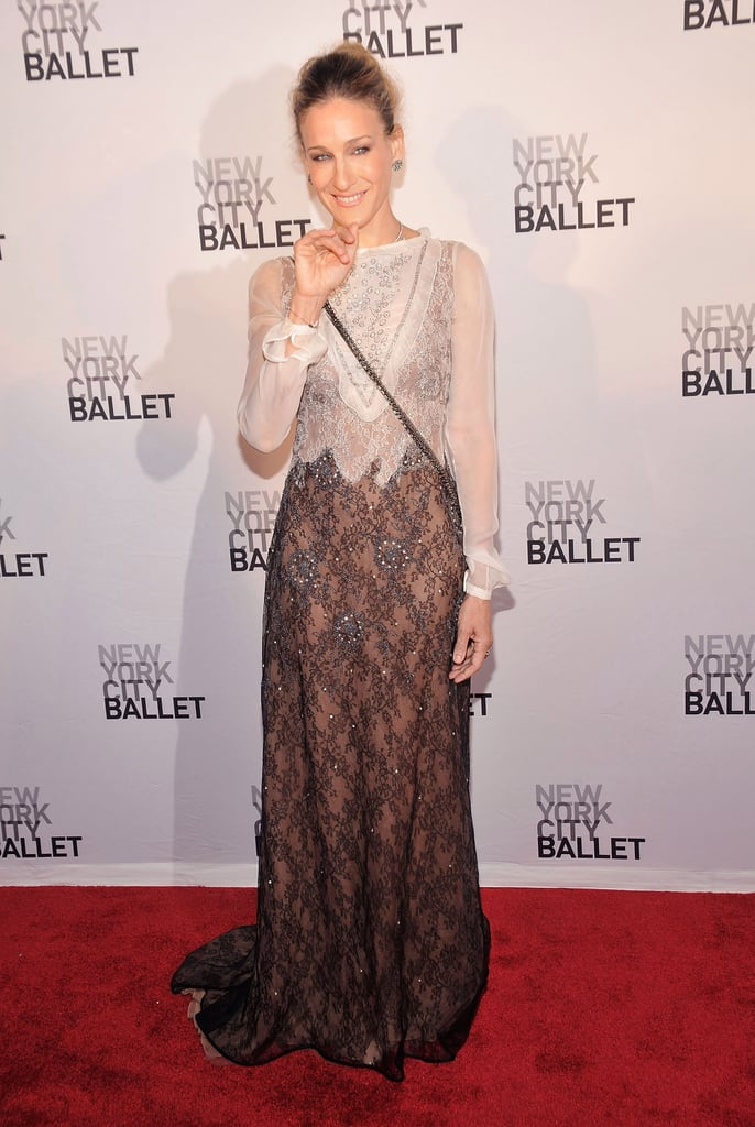 Sarah Jessica Parker and Matthew Broderick Go Black Tie For the Ballet