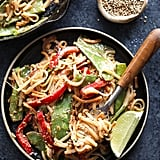 Vegan Pad Thai With Thai Peanut Sauce