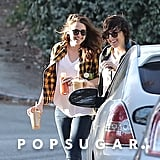Kristen and her friend shared a laugh.
