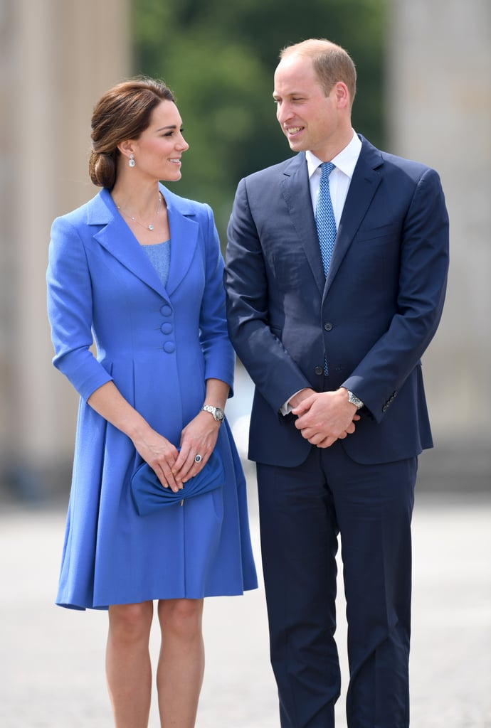 Kate and Will gave each other loving glances in Berlin.