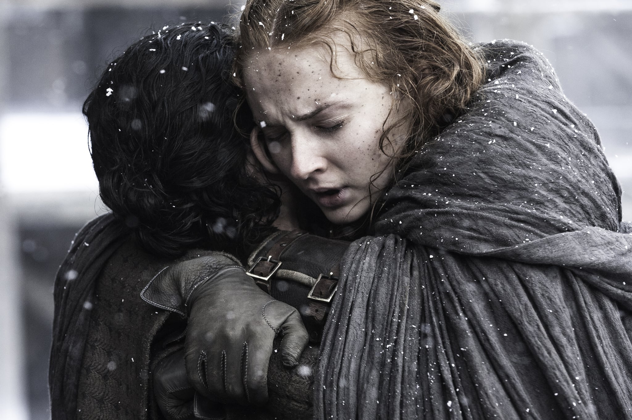Sophie Turner and Kit Harington Had the Sweetest Game of Thrones Reunion at the Emmys