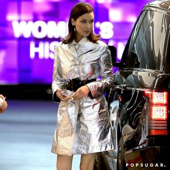 Bella Hadid's Dior Slingback Heels