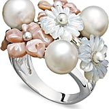 Macy's Mother of Pearl Flower Ring (£309)
