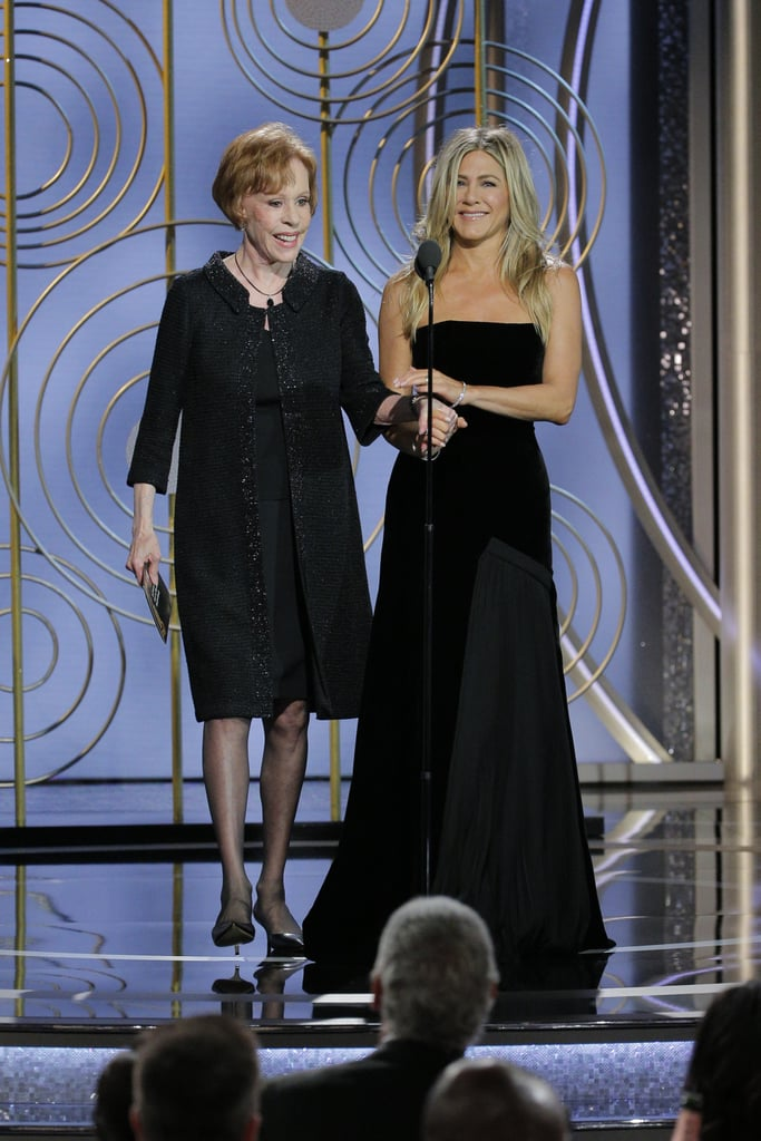 """""""Kinky. Was it everything you dreamed it would be?"""" — Carol Burnett to Jennifer Aniston after Jennifer asked if she could pull her ear."""