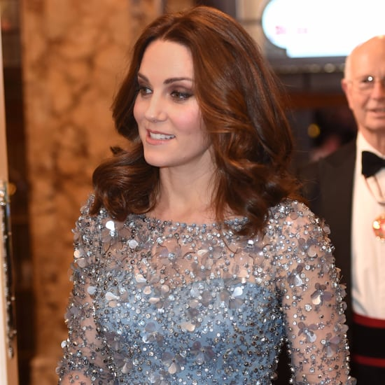 Kate Middleton's Jenny Packham Blue Dress