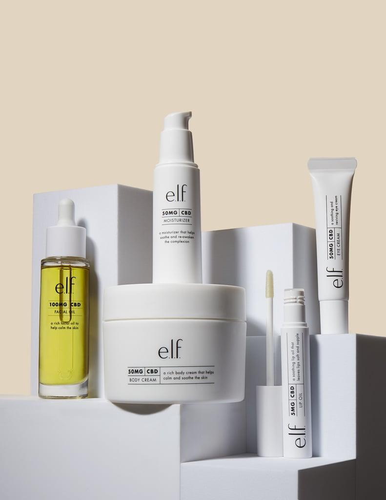 e.l.f. Cosmetics CBD Collection Launch