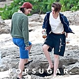 Kristen Stewart and Alicia Cargile in Hawaii | Pictures