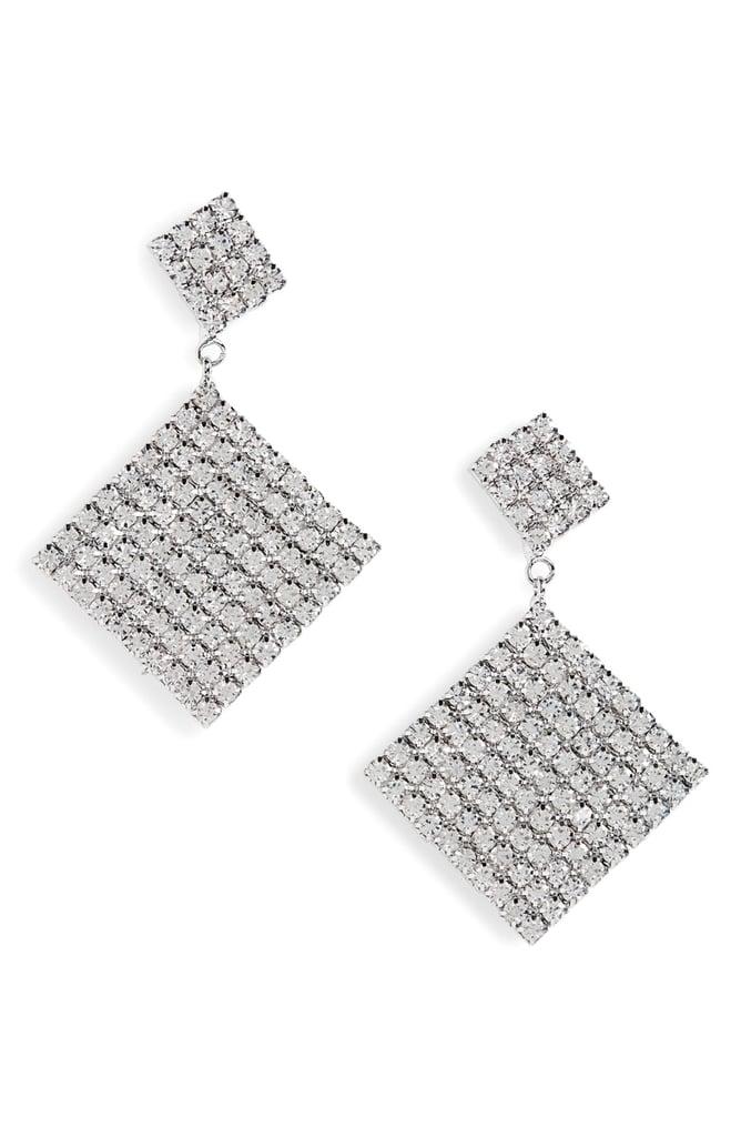 Leith Crystal Tier-Drop Earrings