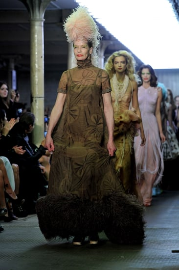 Veruschka Didn't Like Modeling in Giles's Spring 2011 Show