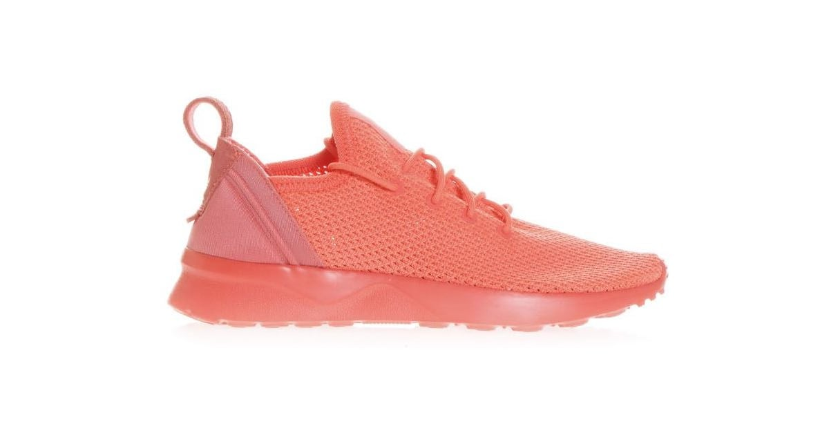 huge selection of ac22f 4c7d7 Adidas Zx Flux Adv Virtue Shoes | Coral Sneakers | POPSUGAR ...