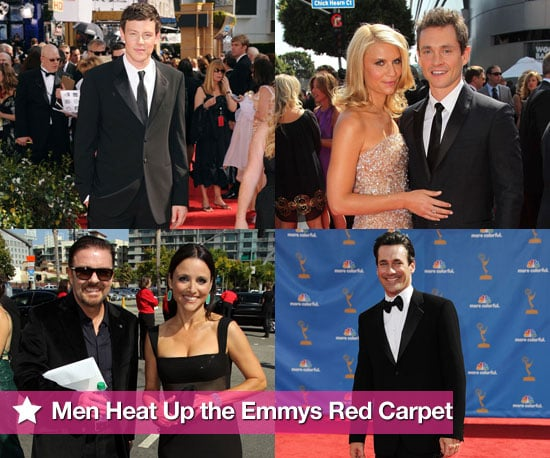 Pictures of Hugh Dancy, Ricky Gervais, Cory Monteith, John Hamm and More Men on the Red Carpet of the Emmy Awards