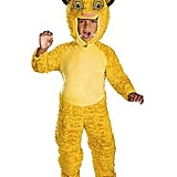Toddler Faux Fur Simba Costume From The Lion King
