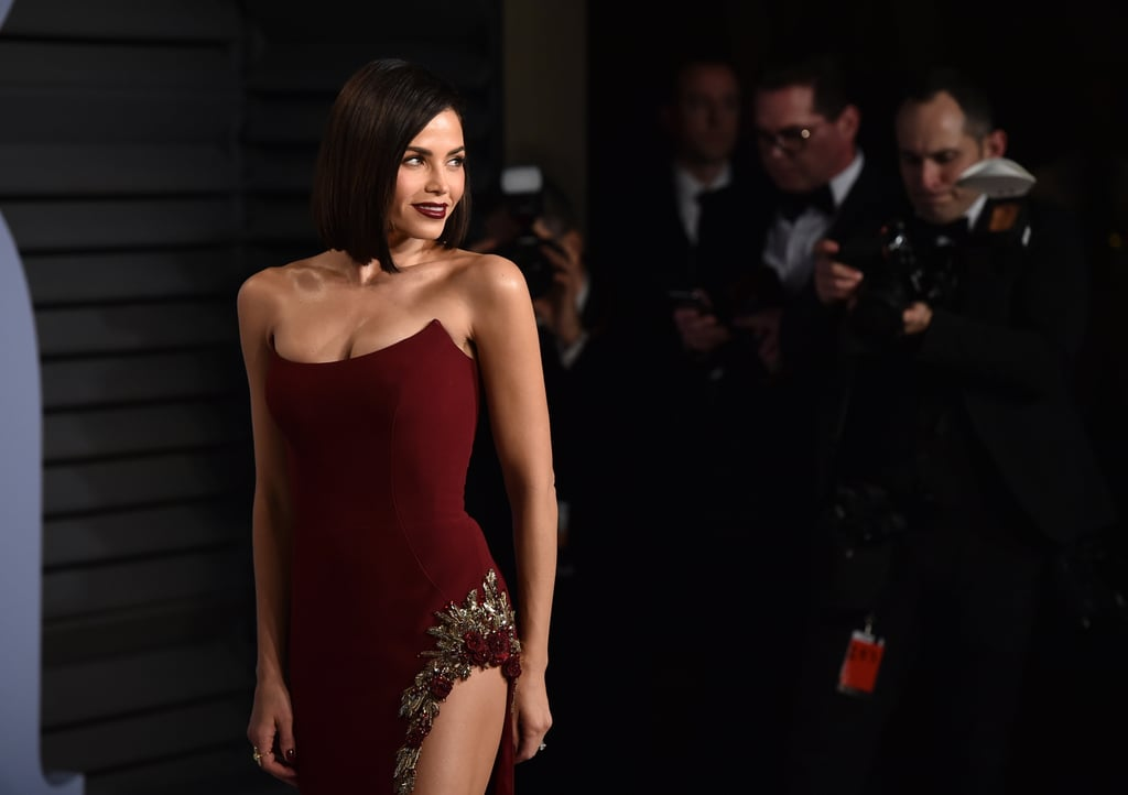 5e6ade91cf Jenna Dewan Tatum Vanity Fair Oscars Party Dress 2018