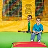 Jumping in Bounce Houses