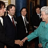 Jeff Beck, Eric Clapton, Jimmy Page, and Brian May, 2005