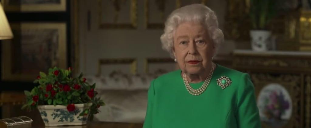 Watch Queen Elizabeth II's Coronavirus Message Broadcast