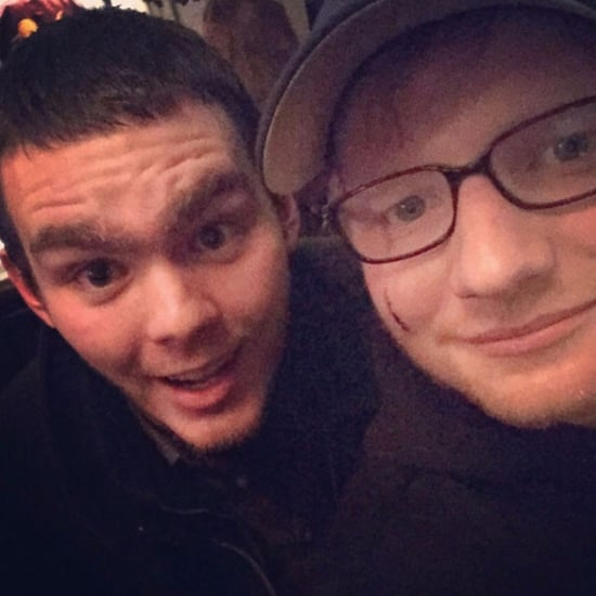 Ed Sheeran's Face Cut by Princess Beatrice