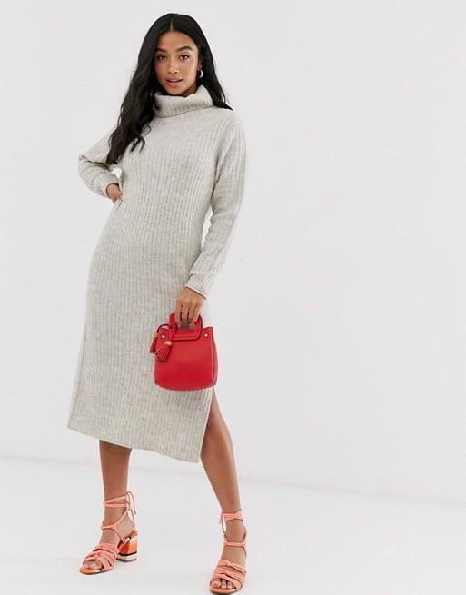 ASOS Design Chunky Midi Dress