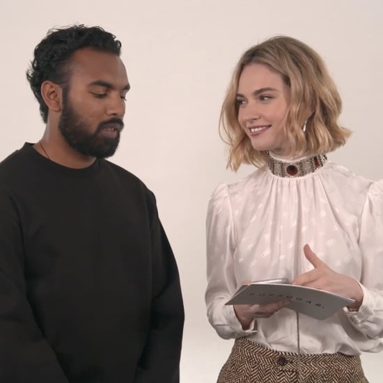 Lily James and Himesh Patel Yesterday Video Interview